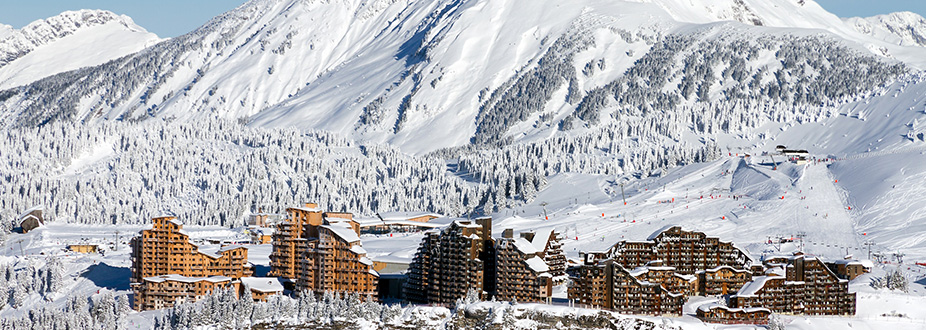 Avoriaz ski town