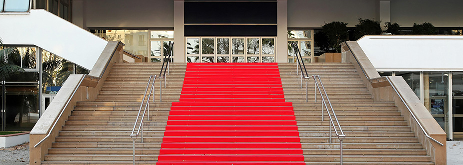 Cannes Festival red carpet