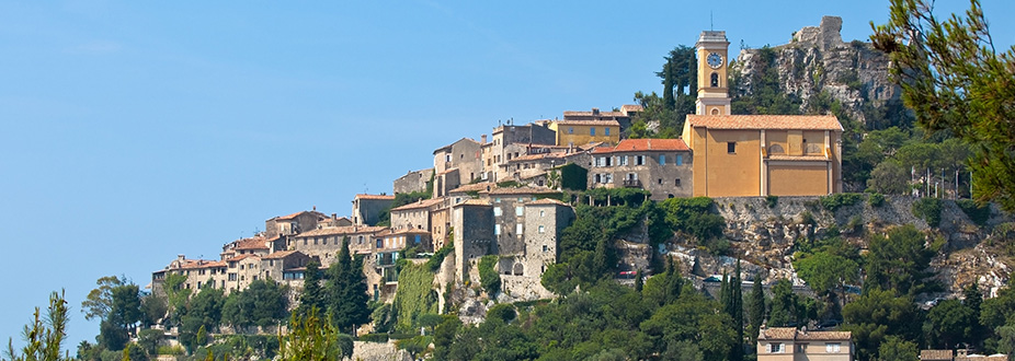 Panoramic Picture from Eze's village
