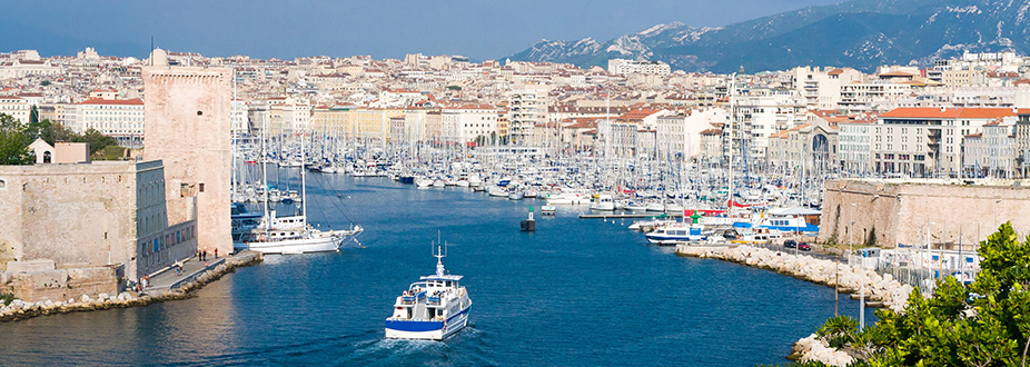 Marseille panoramic picture