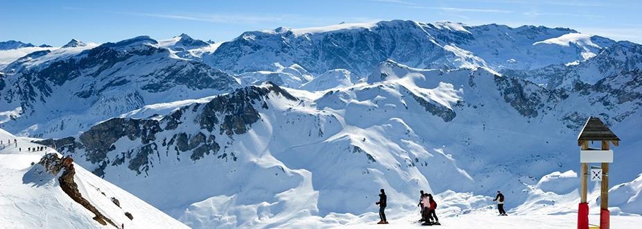 Meribel Ski station slopes