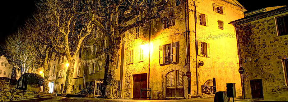 Heritage building at Valbonne town